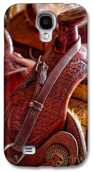 Saddle In Tack Room Galaxy S4 Case