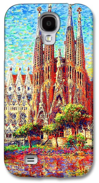 Sagrada Familia Galaxy S4 Case by Jane Small