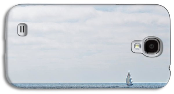 Sail On Blue - Widescreen Galaxy S4 Case by Peter Tellone