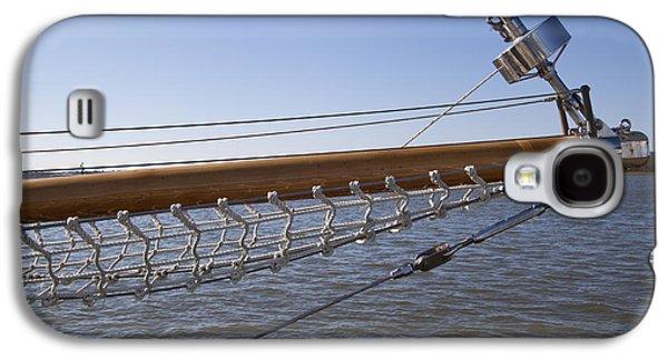 Sailboat Bowsprit Galaxy S4 Case by Dustin K Ryan