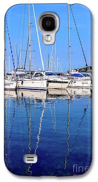 Sailboat Reflections - Rovinj, Croatia  Galaxy S4 Case