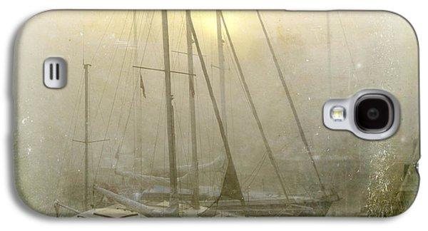 Boat Galaxy S4 Case - Sailboats In Honfleur. Normandy. France by Bernard Jaubert
