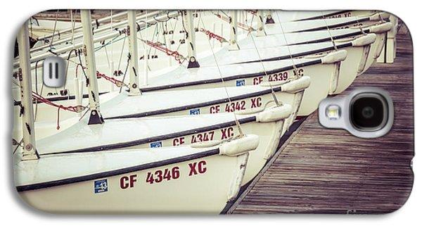 Sailboats In Newport Beach Retro Picture Galaxy S4 Case