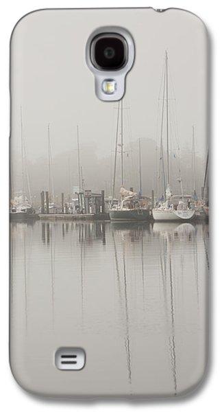 Sailboats In Stillness Galaxy S4 Case by Karol Livote