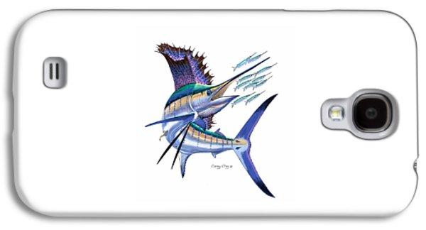 Sailfish Digital Galaxy S4 Case by Carey Chen