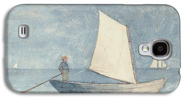 Sailing A Dory Galaxy S4 Case by Winslow Homer