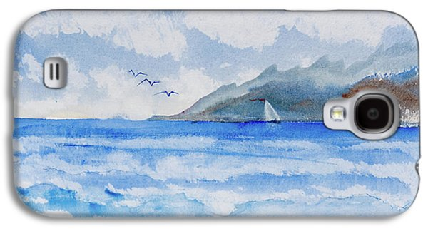 Sailing Into Moorea Galaxy S4 Case