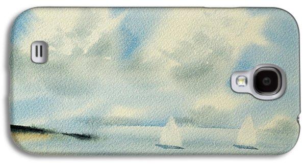 Sailing Into A Calm Anchorage Galaxy S4 Case