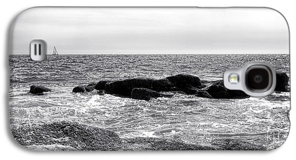 Sailing Off The Coast Of Maine Galaxy S4 Case by Olivier Le Queinec