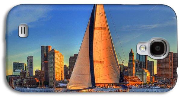 Sailing On Boston Harbor Galaxy S4 Case by Joann Vitali