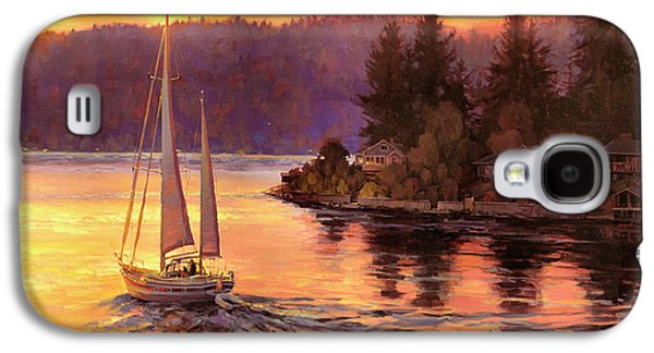 Seattle Galaxy S4 Case - Sailing On The Sound by Steve Henderson