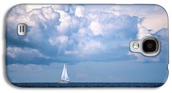 Sailing Under The Clouds Galaxy S4 Case