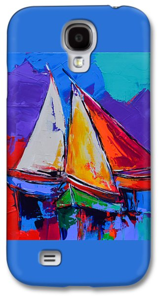 Sails Colors Galaxy S4 Case by Elise Palmigiani