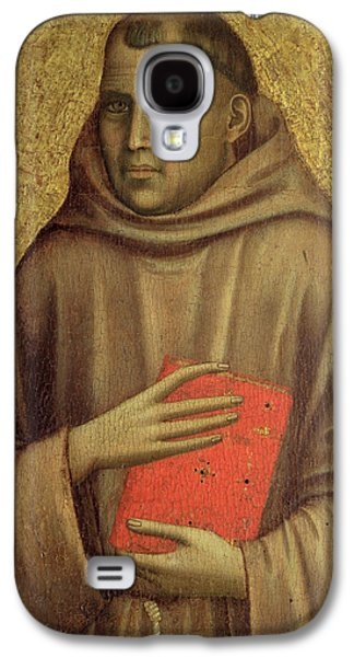Saint Anthony Abbot Galaxy S4 Case by Giotto di Bondone