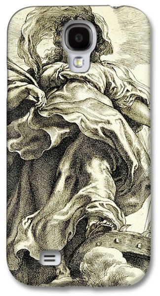 Saint Catherine In The Clouds Galaxy S4 Case