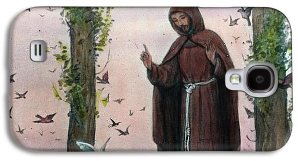 Saint Francis Of Assisi Preaching To The Birds Galaxy S4 Case