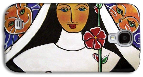 Saint Gertrude Of Nivelles Galaxy S4 Case