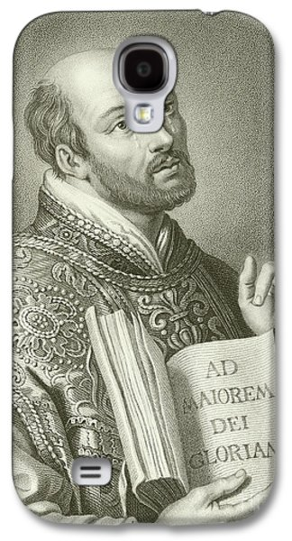 Saint Ignatius Of Loyola Galaxy S4 Case by English School