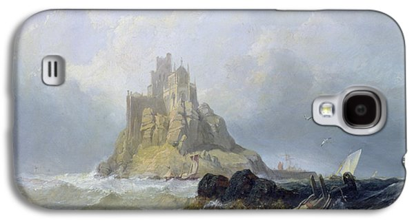 Saint Michael's Mount In Cornwall  Galaxy S4 Case by William Clarkson Stanfield
