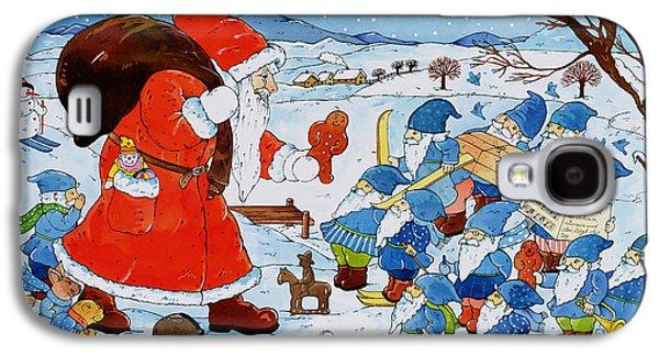 Saint Nicholas Galaxy S4 Case by Christian Kaempf
