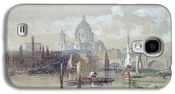 Saint Pauls From The River Galaxy S4 Case by David Roberts