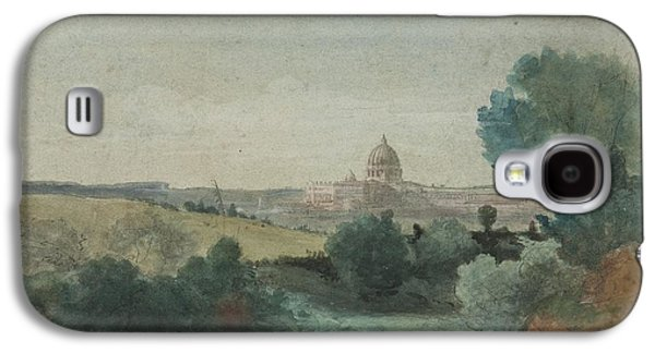 Saint Peter's Seen From The Campagna Galaxy S4 Case by George Snr Inness