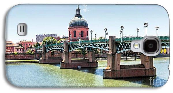 Saint-pierre Bridge In Toulouse Galaxy S4 Case by Elena Elisseeva