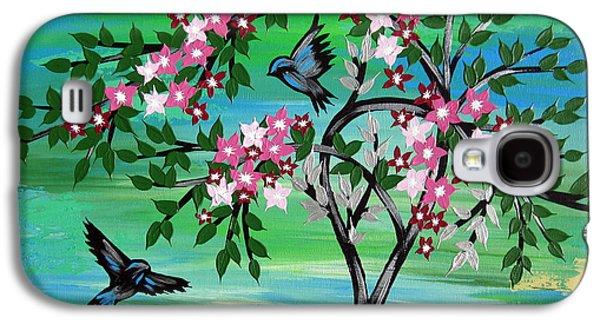 Sakura Freshness Galaxy S4 Case by Cathy Jacobs