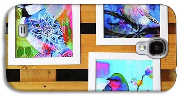 Galaxy S4 Case - *sale* 3 11 X 14 In. Bird Prints With by Robin Mead