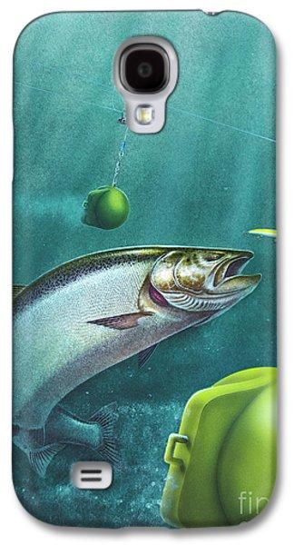 Salmon Downriggers Galaxy S4 Case by Jon Wright