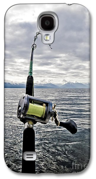 Salmon Fishing Rod Galaxy S4 Case by Darcy Michaelchuk