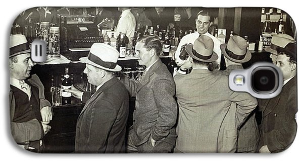Saloon Opens - Prohibition Ends 1933 Galaxy S4 Case by Daniel Hagerman