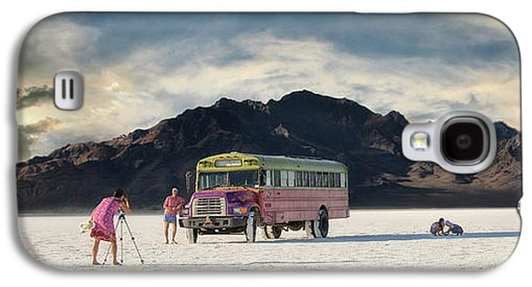 Mountain Sunset Galaxy S4 Case - Salt Family by Keith Berr