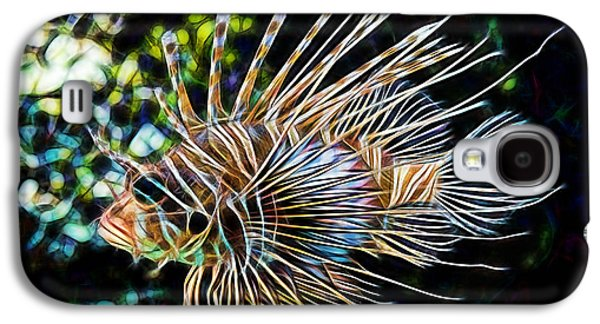 Saltwater Lionfish Galaxy S4 Case by Marvin Blaine