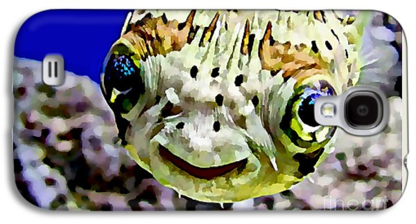 Saltwater Porcupinefish Galaxy S4 Case
