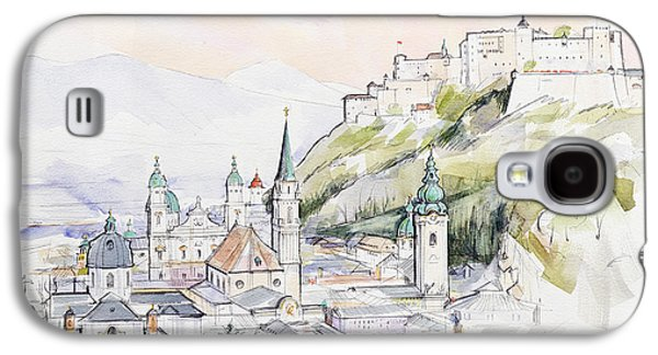 Salzburg Sunrise  Galaxy S4 Case by Clive Metcalfe