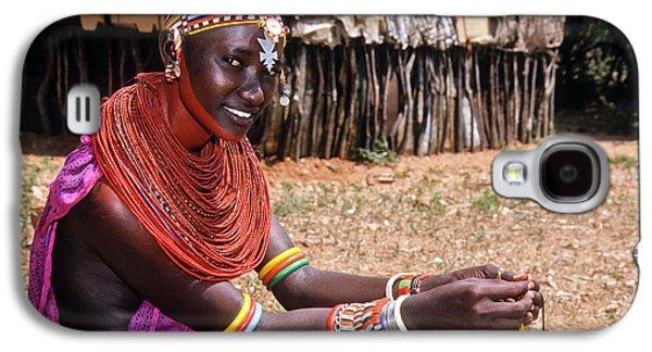 Samburu Beauty Galaxy S4 Case by Michele Burgess