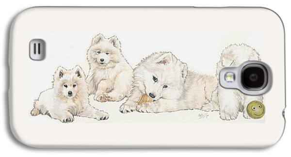 Samoyed Puppies Galaxy S4 Case
