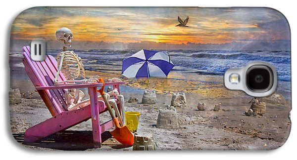 Sam's  Sandcastles Galaxy S4 Case by Betsy Knapp