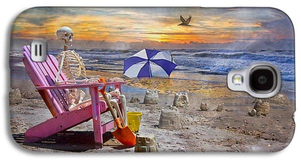 Sam's  Sandcastles Galaxy S4 Case