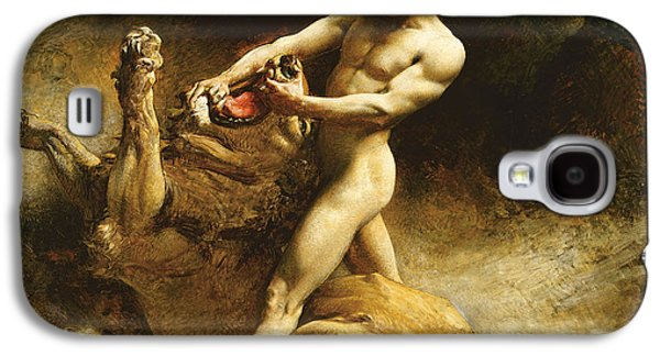 Samson's Youth Galaxy S4 Case by Leon Joseph Florentin Bonnat