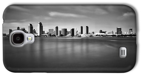 San Diego Skyline - Black And White Galaxy S4 Case