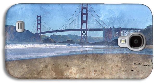 San Francisco Golden Gate Bridge In California Galaxy S4 Case