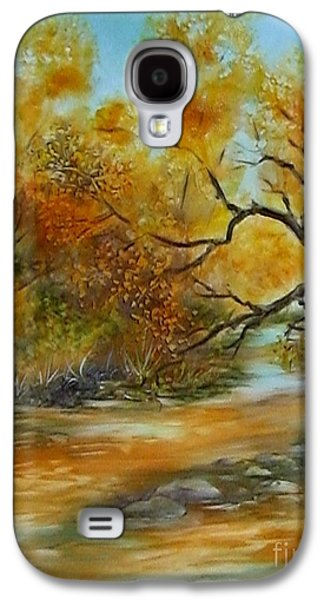 San Pedro River Galaxy S4 Case by Summer Celeste