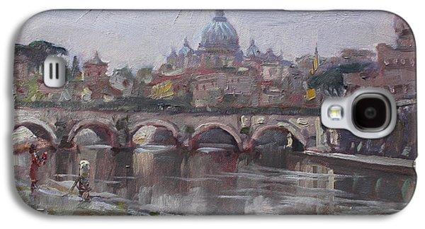San Pietro In A Rainy Day Rome Galaxy S4 Case by Ylli Haruni