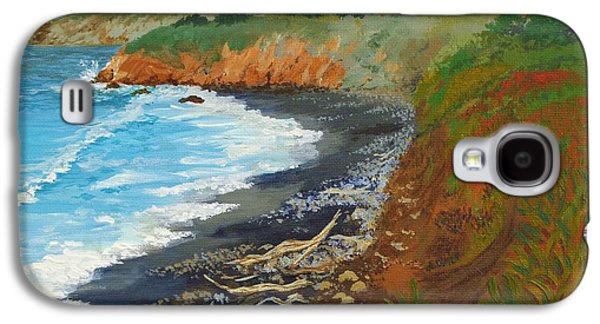 San Simeon Ca Coast Galaxy S4 Case by Katherine Young-Beck