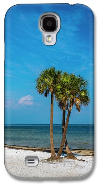 Sand And Palms Galaxy S4 Case