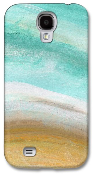 Sand And Saltwater- Abstract Art By Linda Woods Galaxy S4 Case by Linda Woods