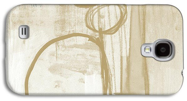 Camel Galaxy S4 Case - Sand And Stone 2- Contemporary Abstract Art By Linda Woods by Linda Woods