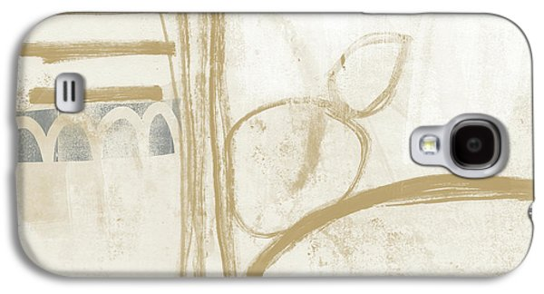 Camel Galaxy S4 Case - Sand And Stone 3- Contemporary Abstract Art By Linda Woods by Linda Woods